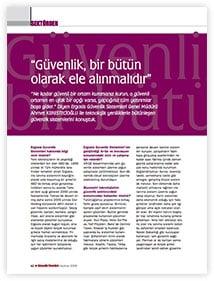 Guvenlik Yönetimi Dergisi Roportaj (HAZIRAN 2018)